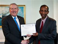 Dr.P.Jayakumar (1977 Maths) awarded U.S. Department of Defense Scientist of the Quarter