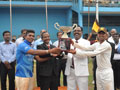 The 8th Battle of Hindus ends in draw; Jaffna Hindu showed power play in the last overs. Dep. Speaker Sumathipala Chief Guest